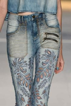 S/S 15 Design Direction: Women's Denim Key Details: