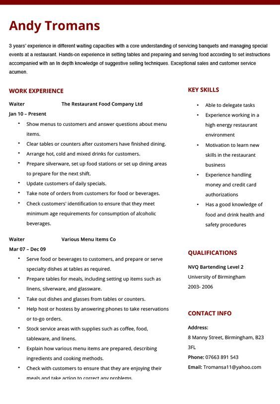 Resume Examples 2018 Provides Resume Templates And Resume Ideas To