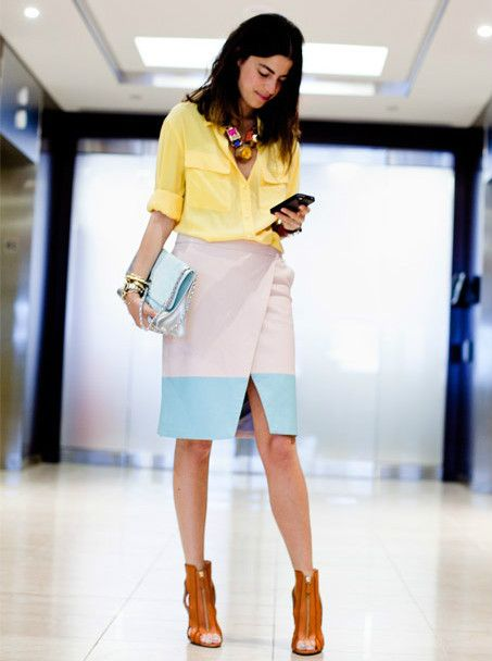must-have-outfits:      Funky office attire.