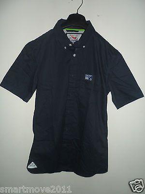 Men's Superdry Short Sleeve Shirt Sued Navy  Size MED  NEW LIMITED EDITION https://t.co/fRrPI4sOPN https://t.co/lGtmgYv71H