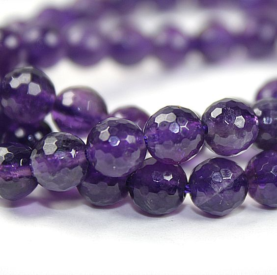 abeadstore - 6mm Amethyst Faceted Round Beads, $28.00 (http://abeadstore.com/products/gemstones/rounds/6mm-7mm/6mm-amethyst-faceted-round-beads/)