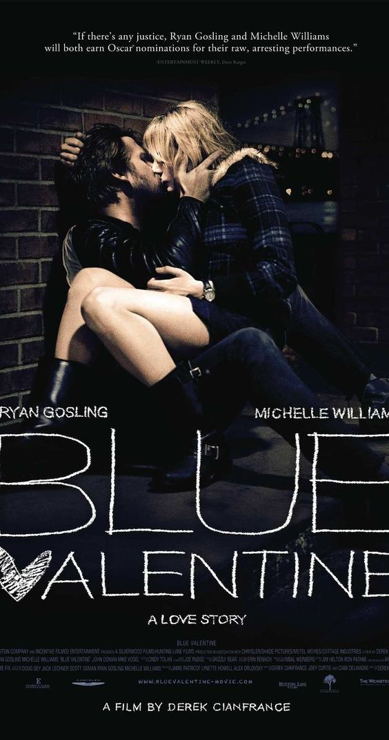 Directed by Derek Cianfrance.  With Ryan Gosling, Michelle Williams, John Doman, Faith Wladyka. The relationship of a contemporary married couple, charting their evolution over a span of years by cross-cutting between time periods.