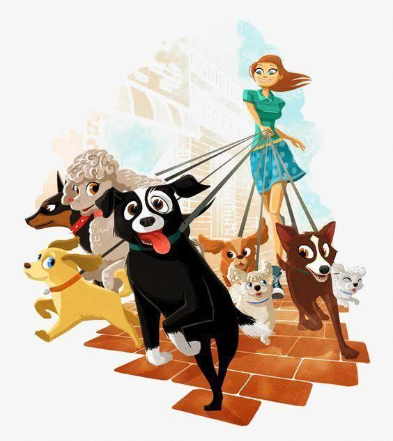Whimsical Dog Art Dog Funny Puppies Colorful Dog Art Dog Funny
