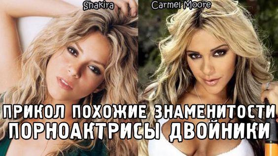 Знаменитости похожие на порнозвезд