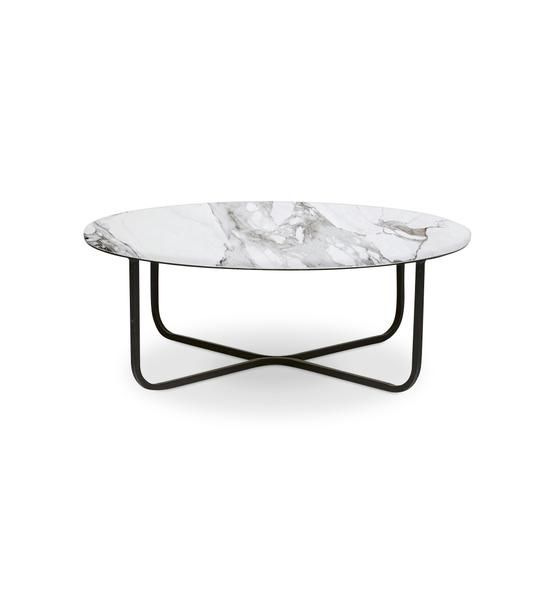 Low Round Marble Coffee Table With Black Metal Frame Marble Round Coffee Table Coffee Table Marble Coffee Table