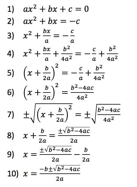 quadratic formula proof google math pinterest search and google. Black Bedroom Furniture Sets. Home Design Ideas