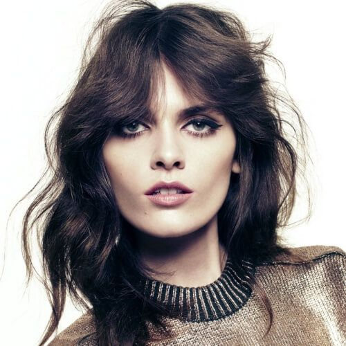 Shag Hairstyles For Square Faces Long Hair Styles Shag Haircut Long Hair Styles Men