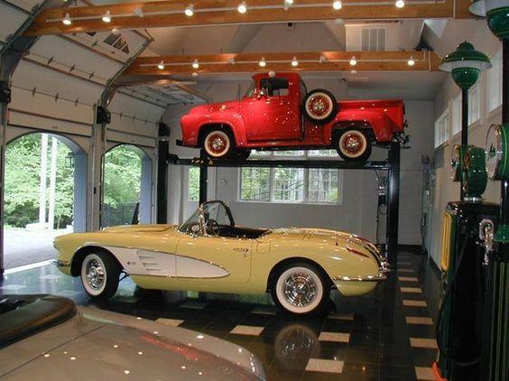 Pinterest the world s catalog of ideas - Deco garage vintage ...