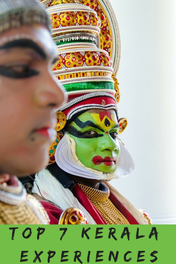 Kathakali dancer Portrait