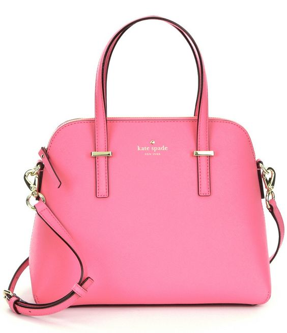 Rouge Pink:kate spade new york Cedar Street Maise Dome Satchel