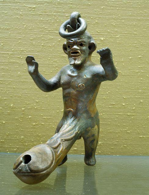 Pompeii bronze:
