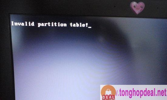 Khắc Phục Lỗi Invalid Partition Table Tren Windows 10 Như Thế Nao Windows 10