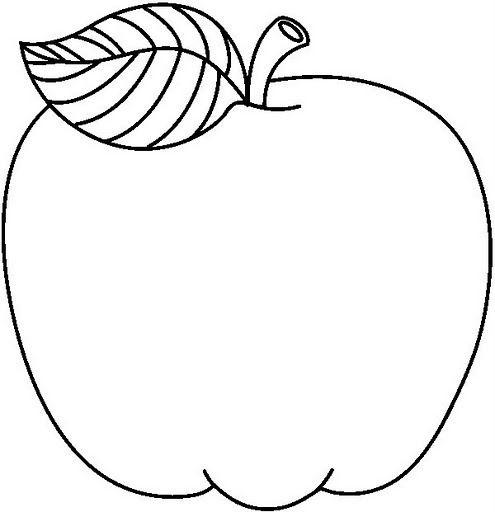 Dibujos De Manzanas Para Colorear En 2020 Con Imagenes