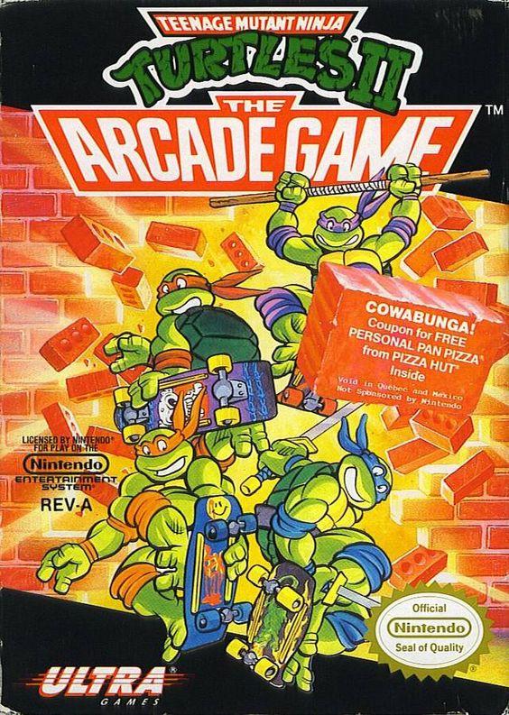 Teenage Mutant Ninja Turtles Ii The Arcade Game Tmnt