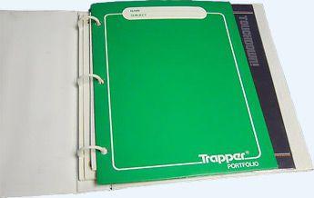 Trapper Keeper folders