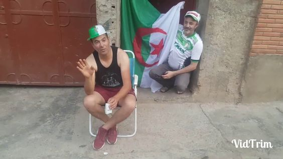 مواطن جزائري يقصف ماجر و بن شيخ بضربة قاضية