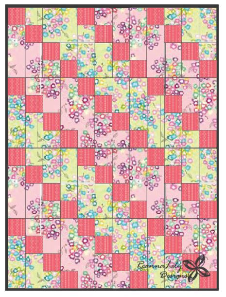 Free Bed Quilt Patterns For Beginners : Strip Pieced Diagonal Beginner Quilt Quilts Pinterest Free pattern, Quilt and The o jays