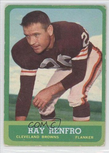 Ray Renfro  - Cleveland Browns (Football Card) 1963 Tops # 15