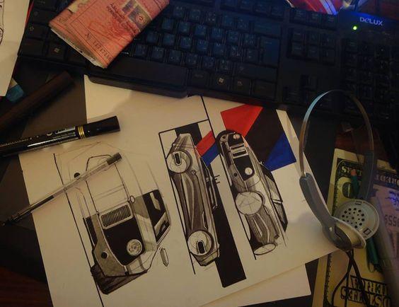 """Técnica de Sketching """"Ball Point"""" o bolígrafo, con la tinta y buen pulso se logran finos trazos controlados y limpieza visual!"""