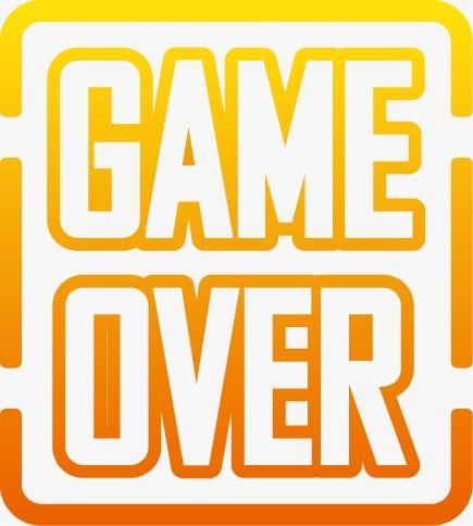 Game End Game Over Game Vector Game Over Png Transparent Clipart Image And Psd File For Free Download Clip Art Games Png