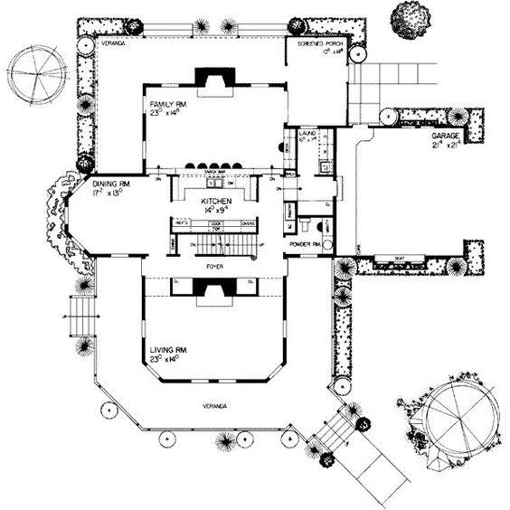 House Plan Description This 3722 Square Feet Victorian