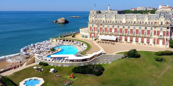 Hôtel du Palais in Biarritz #palace #france #luxe #hotel #tourism #sea #holiday #gastromic #spa #guerlain
