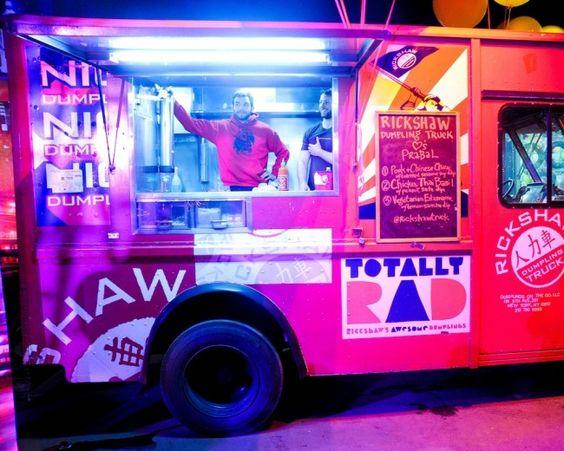 Dumpling truck at the @Prabal Gurung x @Target launch party | Too Cute ...