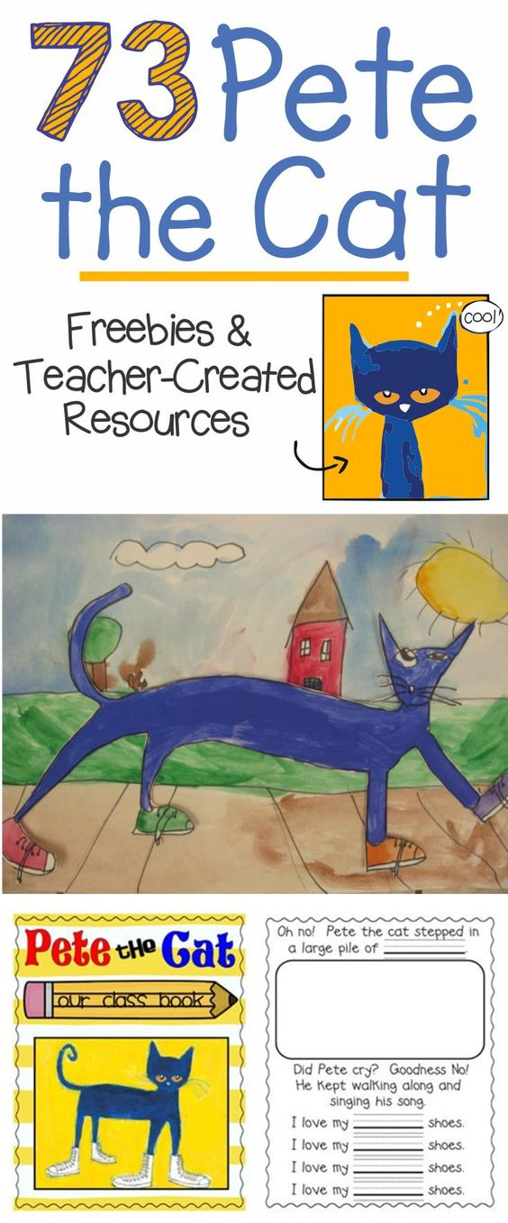 Pete the Cat Reading Activities - FREEBIE by Teacher's ... |Pete The Cat Reading Log