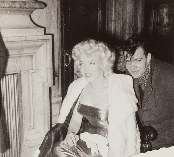 "Marilyn Monroe At The Broadway Premiere Of ""Cat On A Hot Tin Roof."" 1955"