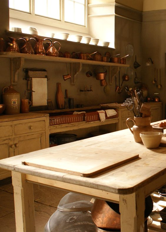 Downton Abbey Paint And Kitchen Inspiration On Pinterest
