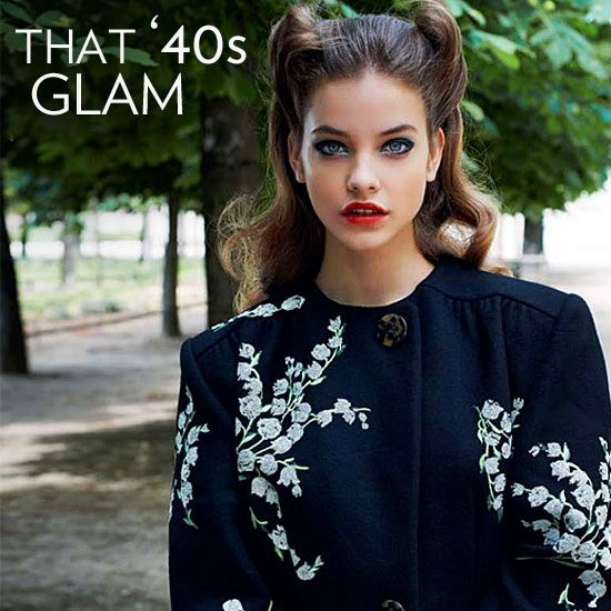 1940s Glamour: 1940S Glamour, 1940S Fashion, Models Barbara Palvin, 1940S Style, Jackets Coats, 1940S Inspired Fashion, 40 S Hairstyle, 40S Hairstyles
