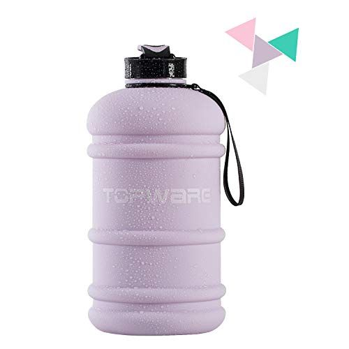 Dishwasher Safe New Material Tritan Plastic Hot Cold Water Jug Container Big Capacity 2 2l 75oz Half Gallon 1 Water Bottle Free Water Bottle Big Water Bottles