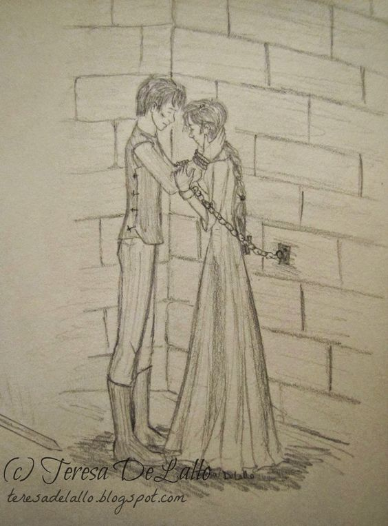 The Shadow King fanart || Jaron and Imogen--Actually, this scene sewed my heart back together <3