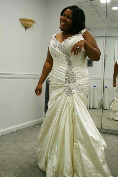Plus Size Wedding Dresses Pnina Tornai : Plus size pnina tornai love it b s wedding bliss