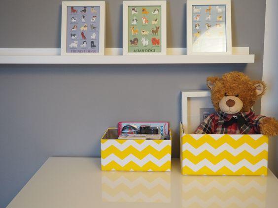 IKEA Ribba Bilderrahmen und Bilderleiste. Dekoboxen von DEPOT