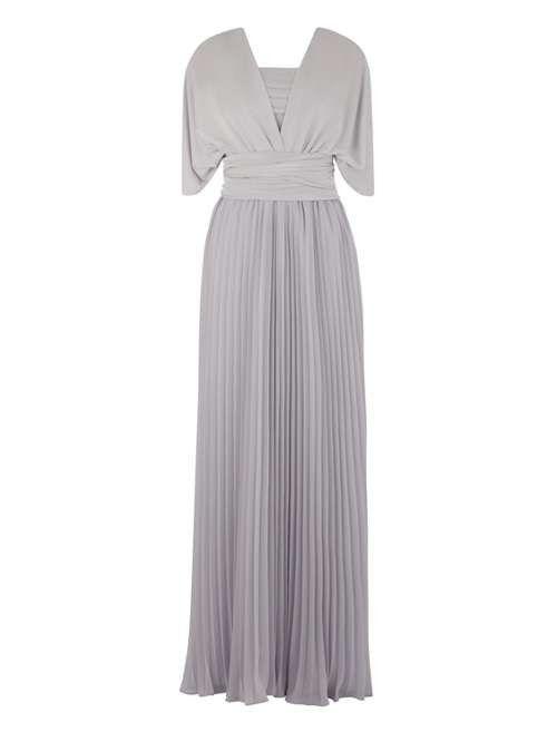 Oasis Multi Way Maxi Dress Pale Grey Maxi Dress Maxi Dress Online Dress Shapes