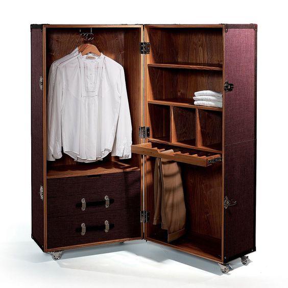 Butlers Hemingway Koffer Schrank Amazon De Kuche Haushalt Ropero Muebles Hogar