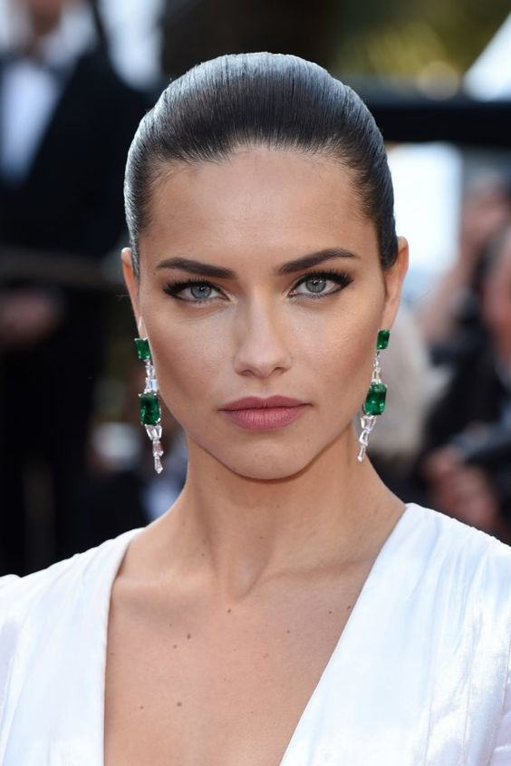 Gisela Serra (Adriana Lima), Christian's go-to date for red carpet affairs--Chapter 13