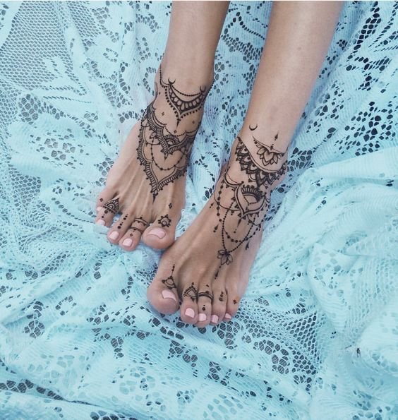 67 Infinity Beautiful Ankle Bracelet Tattoos Design Anklet Tattoos Idea For Women Toe Tattoos Henna Tattoo Foot Anklet Tattoos