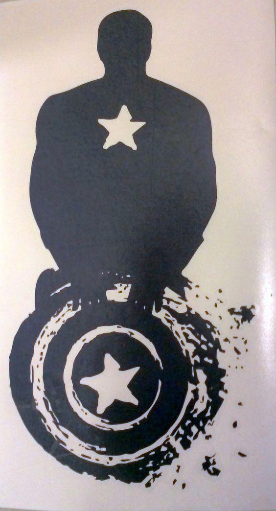 Captain America Wall Decor Logo Avengers Via Etsy