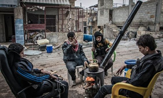 Whoever wins the coming battle for northern Syria will go a long way towards victory in a war now driven by regional agendas 23/12/14