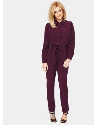 Fearne Cotton Long Sleeve Jumpsuit, http://www.very.co.uk/fearne ...