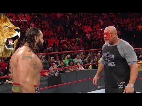 """""""W.T.F Rusev Attack Goldberg on WWE Raw 31/10/2016 See Whats Happen afte..."""