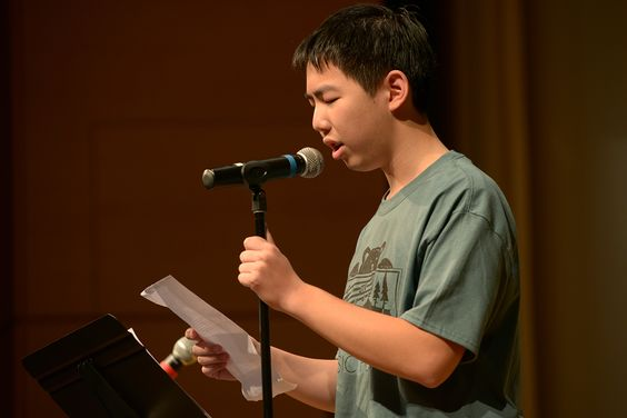 Young musicians become orators at M@M's annual Poetry Jam.