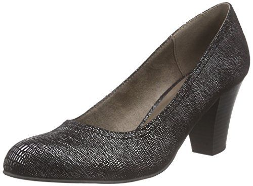 Jana 22406, Damen Pumps, Schwarz (BLK PAT STRUCT 093), 39 EU - http://on-line-kaufen.de/jana/39-eu-jana-damen-22406-pumps-2