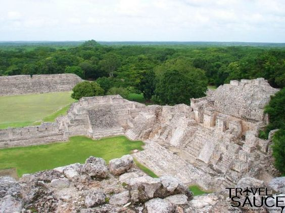 Edzna, Campeche, Mexico These archaeological ruins date back to 400BC and can visited as a day trip from Campeche.
