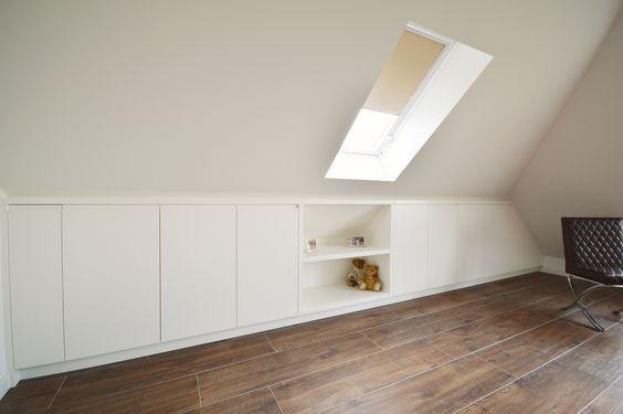Slaapkamer Onder Het Dak : Meer dan 1000 idee?n over Kastruimte op Pinterest – Kasten, Pot