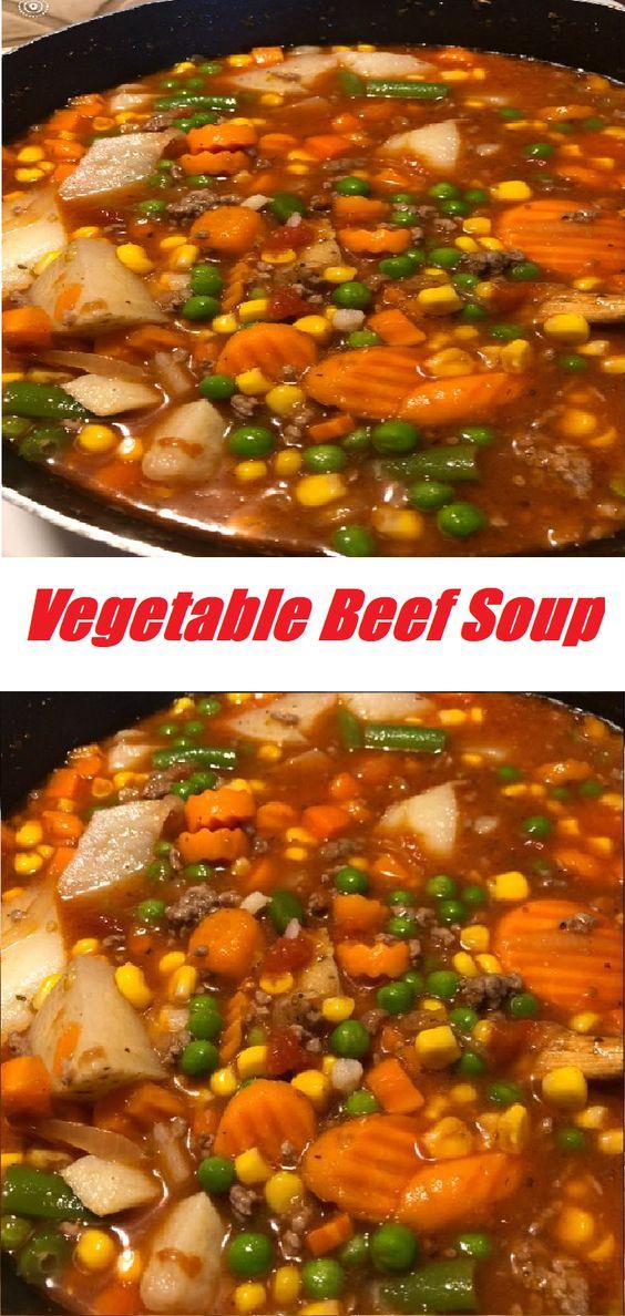 #Vegetable #Beef #Soup Vegetable Beef Soup