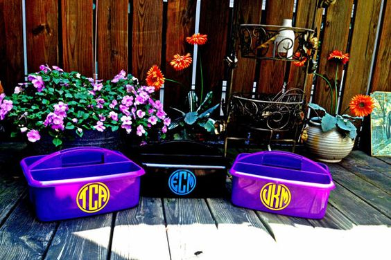 PERSONALIZED  Large Shower Caddy Perfect for by MonogramCollection, $16.00
