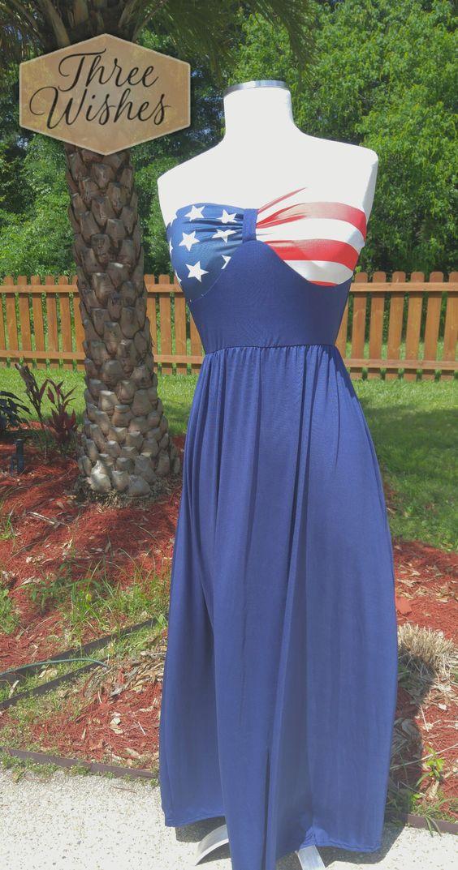 Patriotic Sun Dress/Cover-up *Sale $10